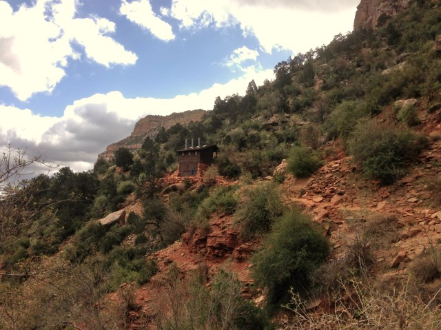 Bright Angel Trail - Mile Resthouse
